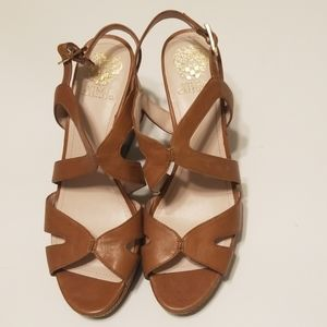 Vince Camuto strappy wedges